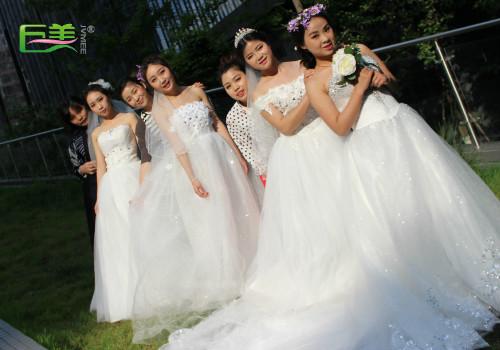 新娘妆造型外景拍摄
