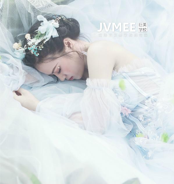 森系氧气创意新娘妆