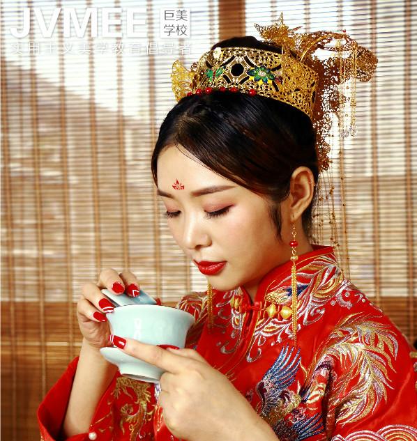 古典中式新娘妆