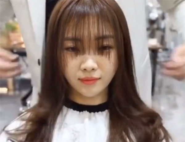 剪空气刘海视频