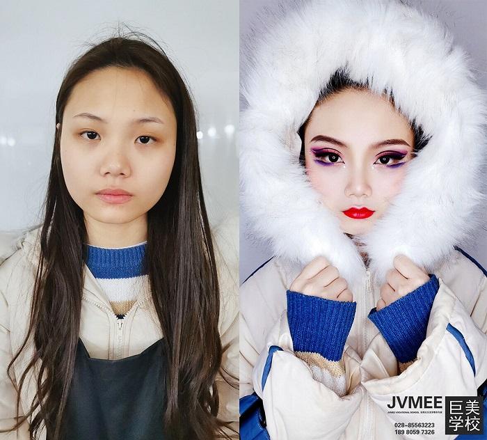 雅安哪里有好的化妆培训学校
