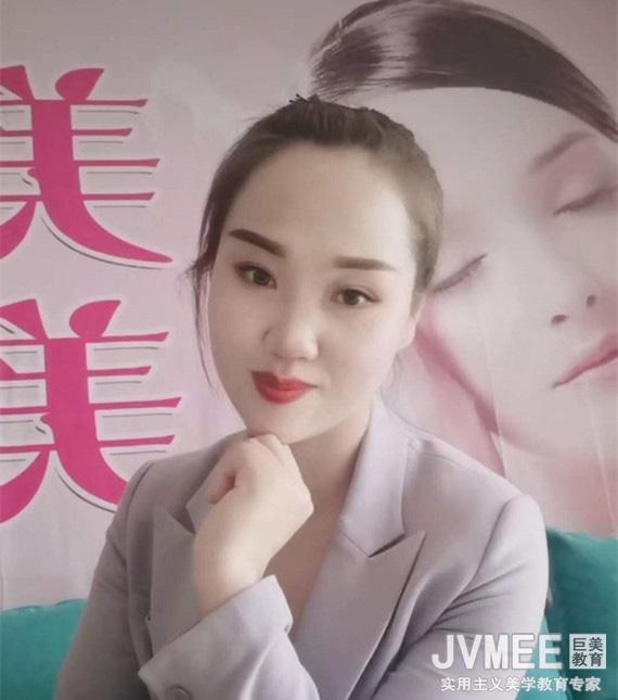 陈杜英 甘肃开店——美美妆工作室