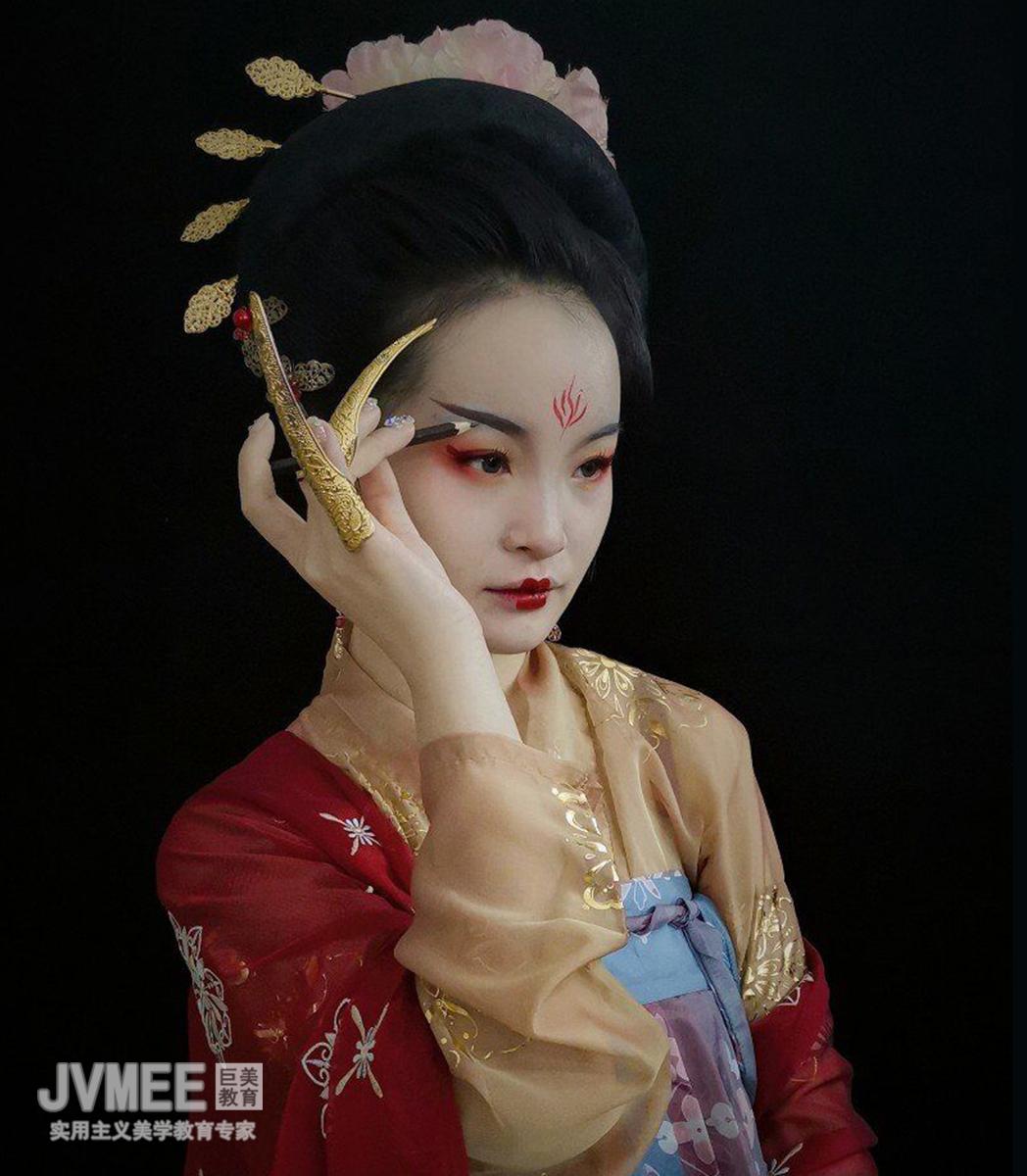 朝代妆——唐妆作品
