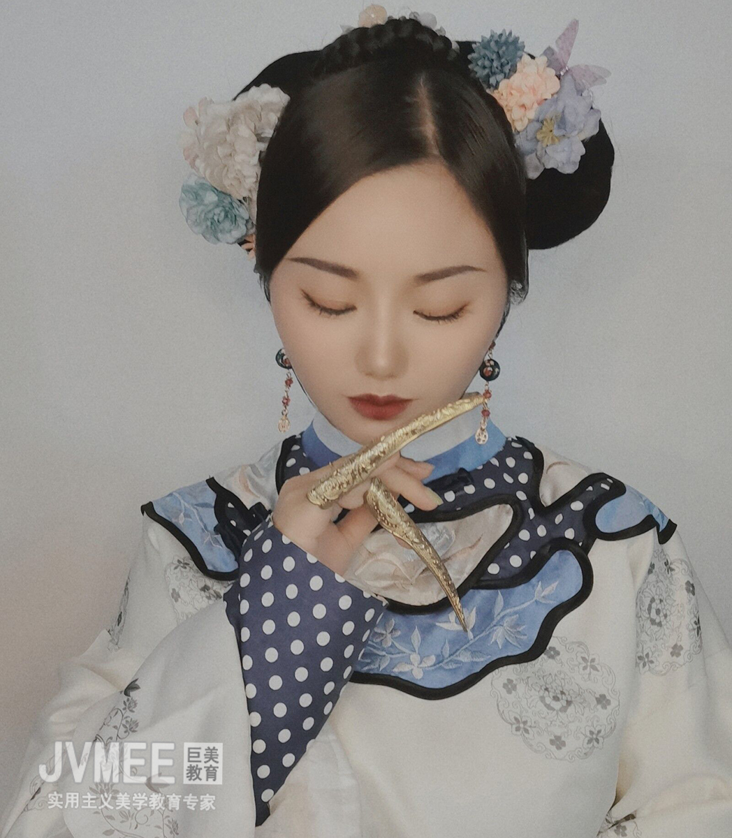 清朝格格妆作品