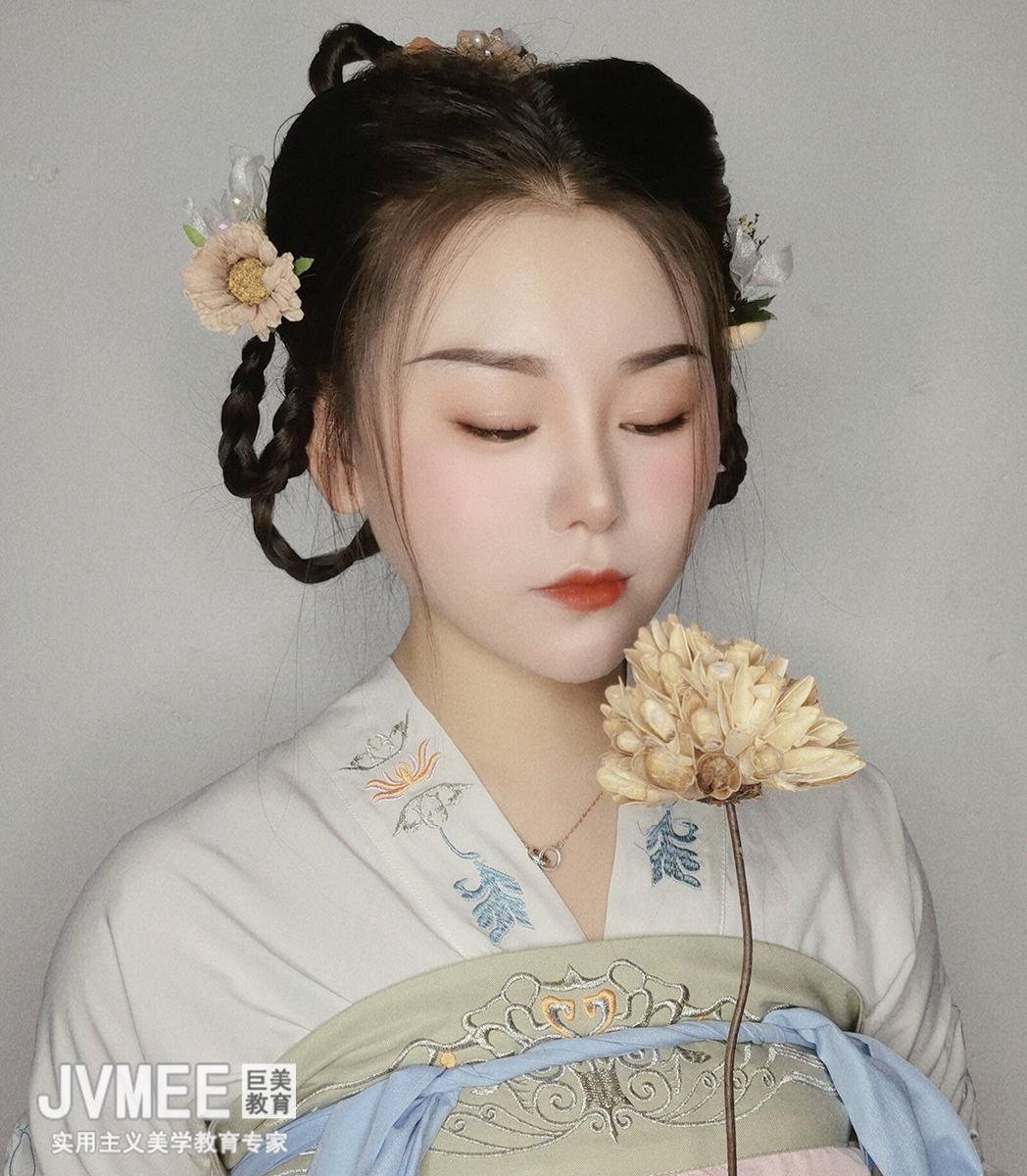 朝代妆——汉代妆容作品